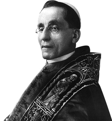 Pope Benedict the XV - Pontifical Oriental Institute