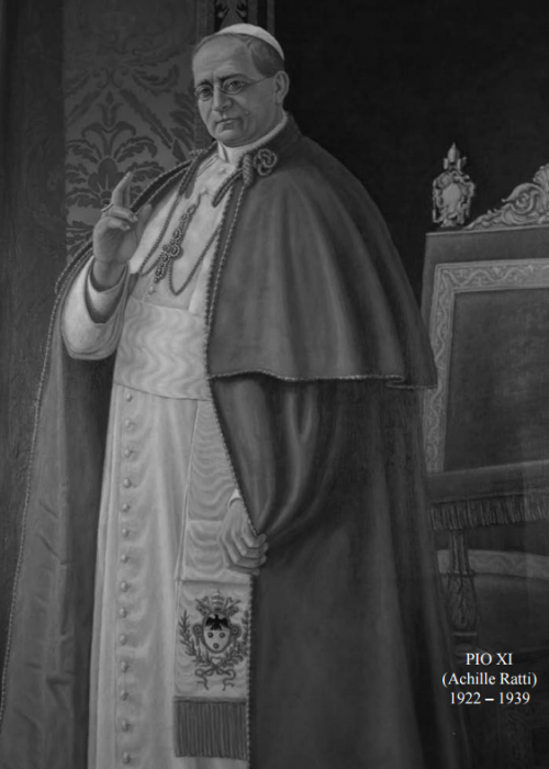 Pope Pio XI - Pontifical Oriental Institute
