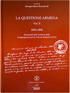 La Questione Armena - Pontifical Oriental Institute