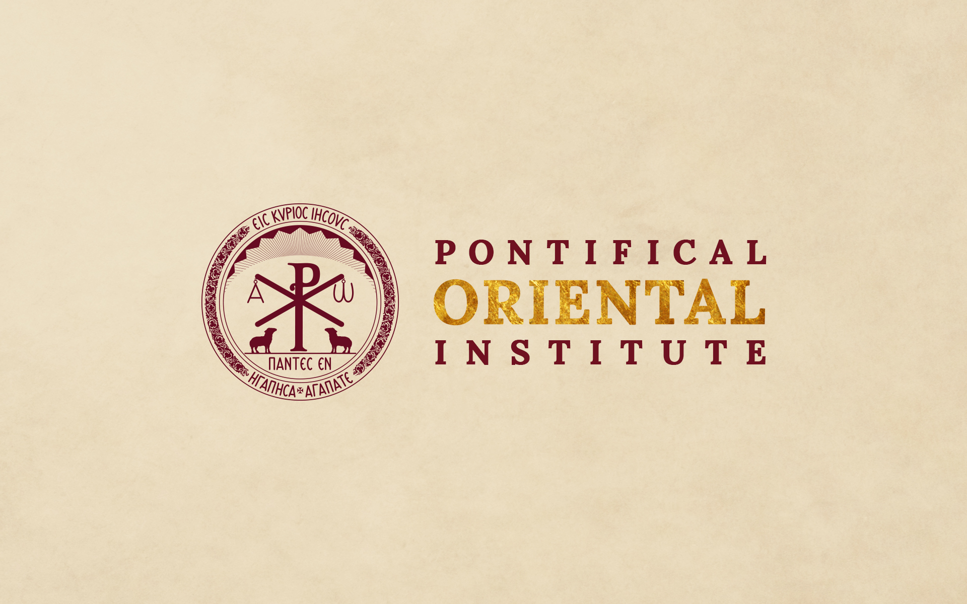 The Pontifical Oriental Institute logo