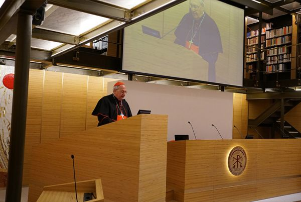 The inaguration of the Pontifical Oriental Institute