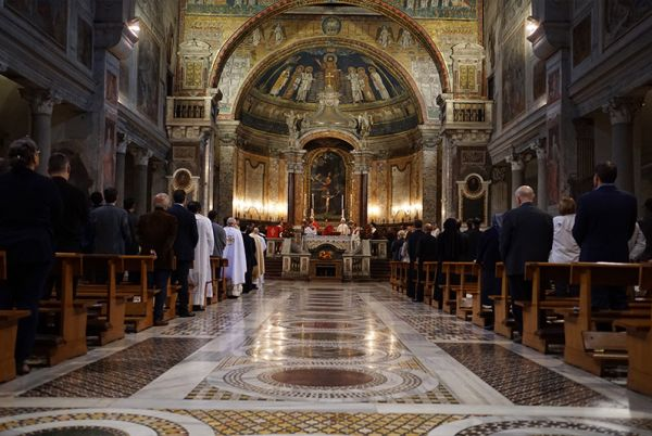 the inaugaration of the Pontifical Oriental Institute