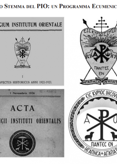 Pontifical Oriental Institute logo evolution